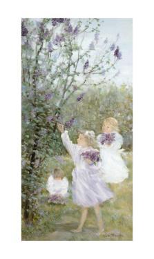Lilac Bouquets by Hélène Léveillée