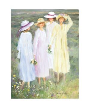 Summer Ladies by Hélène Léveillée