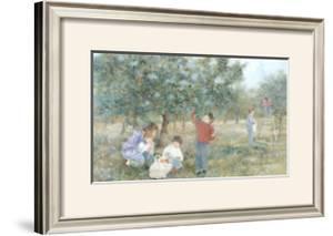 The Family at the Orchard by Hélène Léveillée