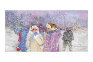 Under the Snow Flakes by Hélène Léveillée