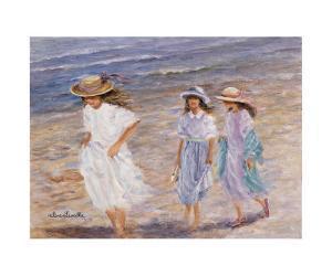 Walk at the Sea by Hélène Léveillée