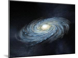 Milky Way Galaxy, Artwork by Henning Dalhoff