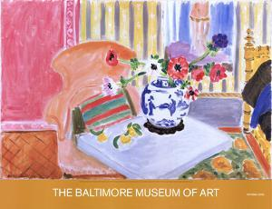 Anemones and Chinese Vase by Henri Matisse