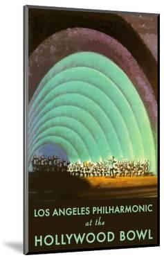Hollywood Bowl Poster, Los Angeles, California