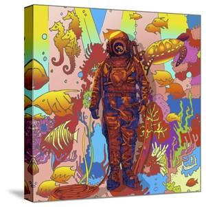 Deep-sea-diver by Howie Green