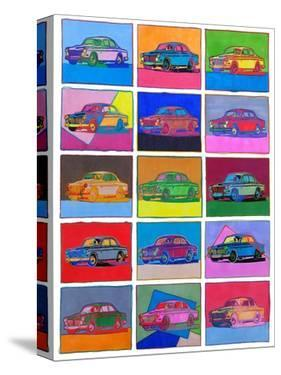 Pop Art Classic Volvo by Howie Green