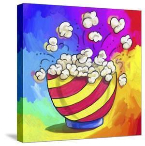 Pop-Art Popcorn Bowl by Howie Green