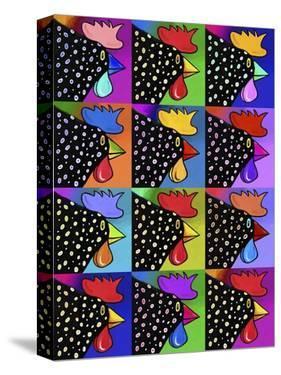 Pop Art Rooster by Howie Green