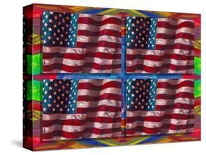 US Flags by Howie Green