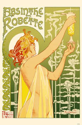 Poster: Absinthe, 17x11in.