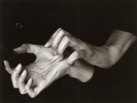 Hands of Georgia O'Keefe, by Alfred Stieglitz