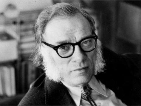 Poster: Portrait of Isaac Asimov, 24x18in.