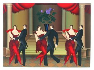 Tango Dancers by Igor Galanin