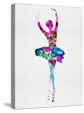 Ballerina Watercolor 1 by Irina March