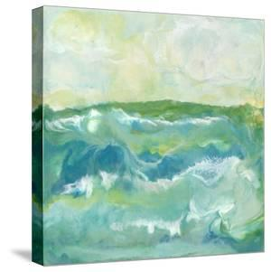 Turquoise Sea I by J. Holland