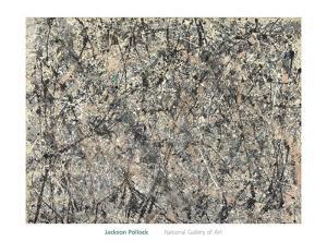 Number 1, 1950 (Lavender Mist), 1950 by Jackson Pollock