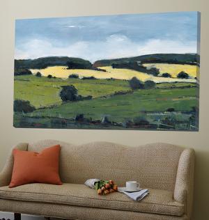 Serene Landscape 2 by Jacques Clement
