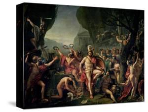 Leonidas at Thermopylae, 480 BC, 1814 by Jacques-Louis David
