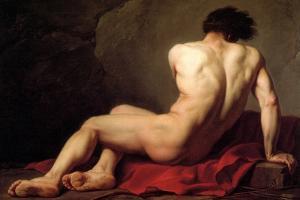 Patroclus by Jacques-Louis David