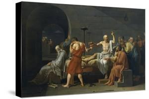 The Death of Socrates by Jacques-Louis David