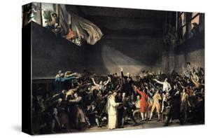 The Tennis Court Oath, 20th June 1789, 1791 by Jacques-Louis David