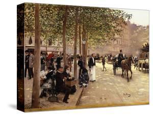 A Paris Street by Jean Béraud