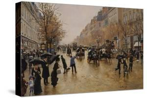 View of Boulevards by Jean Béraud