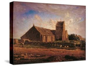 Church of Greville by Jean-François Millet