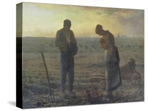 Evening Prayer (L'Angélus), 1857/59 by Jean-François Millet