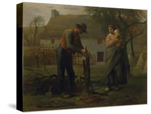 Farmer Grafting a Tree (Le Greffeur) by Jean-François Millet