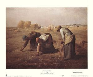 Gleaners by Jean-François Millet