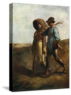 Going to Work, C1850-1851 by Jean Francois Millet