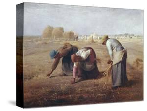 The Gleaners (Des Glaneuses Ou Les Glaneuses) by Jean-François Millet