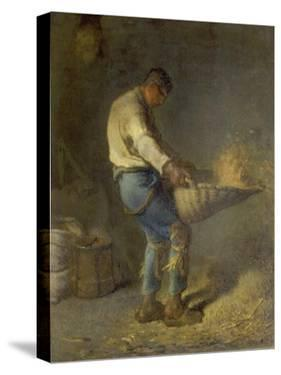 Un Vanneur (Separate the Wheat from the Chaff), 1866-1868 by Jean-François Millet