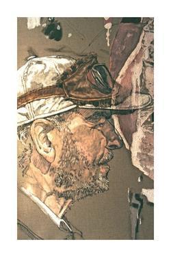 Autoportrait II by Jean Le Gac