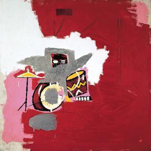Max Roach by Jean-Michel Basquiat