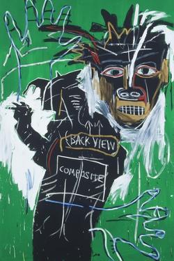 Self-portrait as a Heel Part Two by Jean-Michel Basquiat
