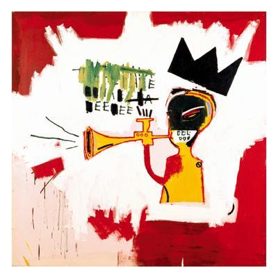 Jean Michel Basquiat Crown Premium Poster Print