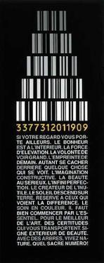 Code 3377311 by Jean Paul Albinet