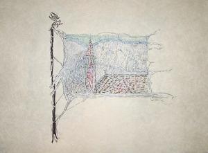 Clocher by Jean-Paul Riopelle