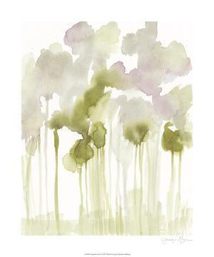 Aquarelle Forest I by Jennifer Goldberger