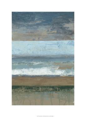 Coastal Abstract I by Jennifer Goldberger