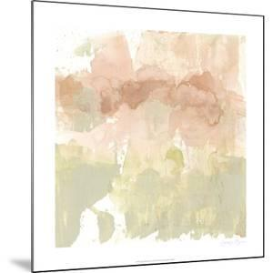 Dusty Blush & Olive I by Jennifer Goldberger
