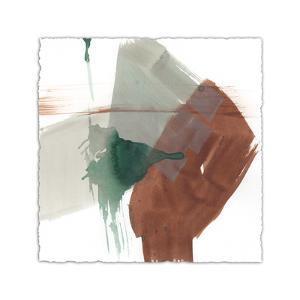 Earthy Gestures V by Jennifer Goldberger