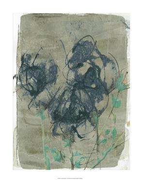 Floral Vignette I by Jennifer Goldberger