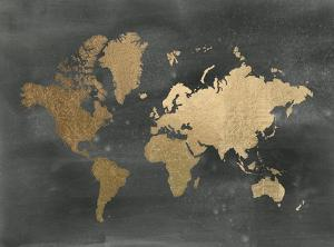 World Maps Posters And Prints At Artcom - Large sepia world map