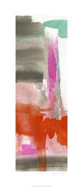Red, Pink & Grey II by Jennifer Goldberger