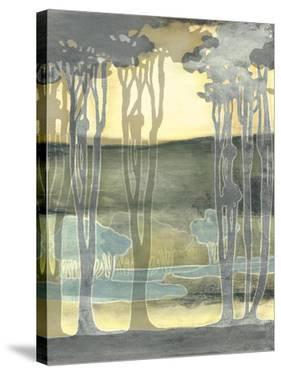 Small Nouveau Landscape II by Jennifer Goldberger