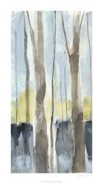 Treeline Diptych I by Jennifer Goldberger