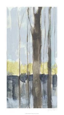 Treeline Diptych II by Jennifer Goldberger
